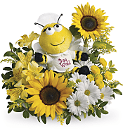 Bee Well Bouquet Flowers